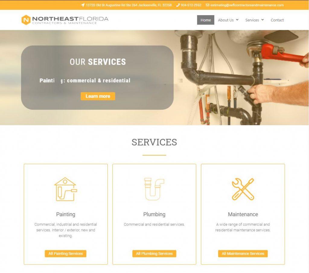 NE Florida Contractors and Maintenance