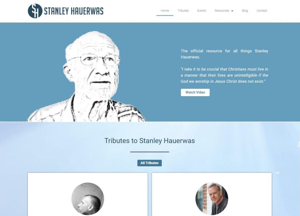StanleyHauerwas.org