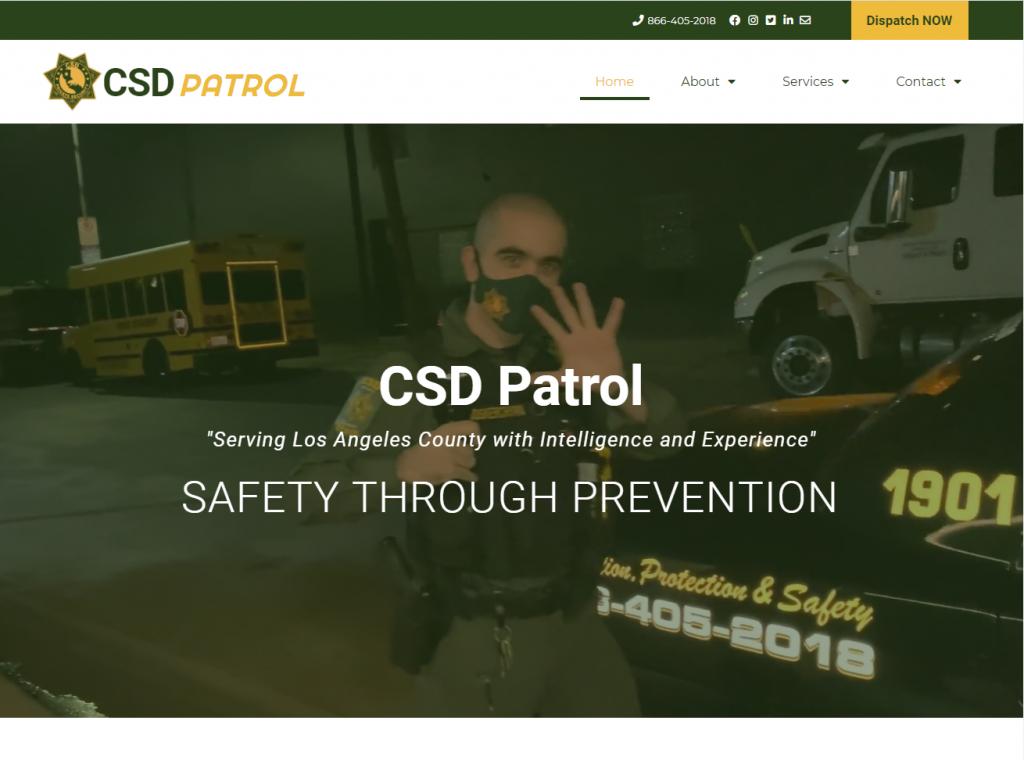 CSD Patrol, Los Angeles